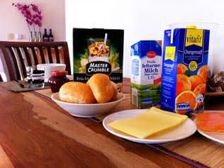 Vakantiehuisje Winterberg - ontbijt