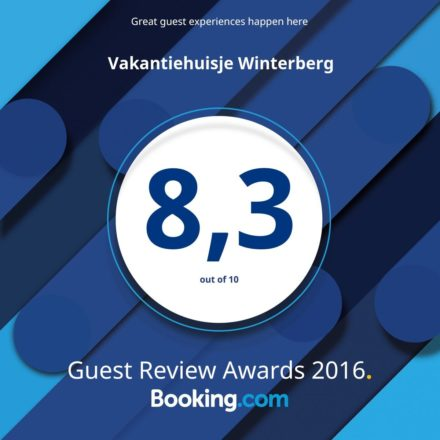 GuestReviewAwards2016 - Vakantiehuisje Winterberg