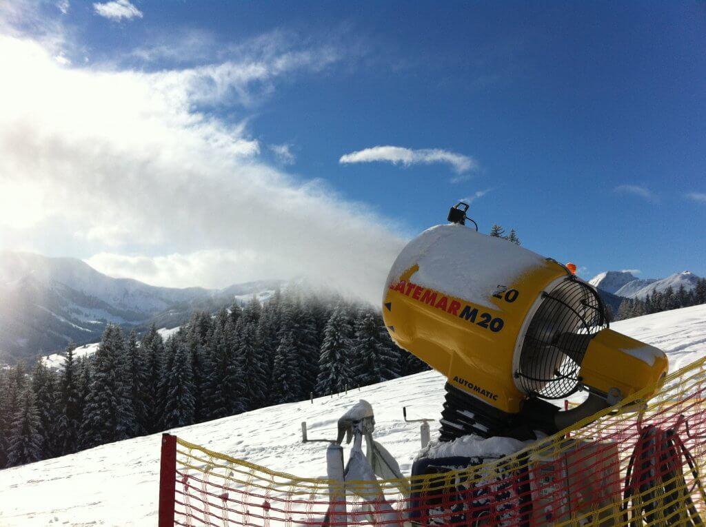 Vakantiehuisje Winterberg - Sneeuwkanonnen