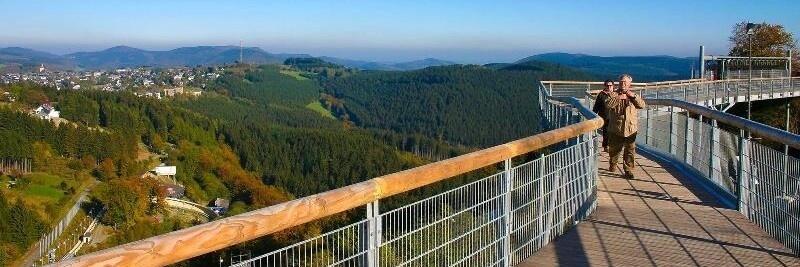 Vakantiehuisje Winterberg - Panoramabrug